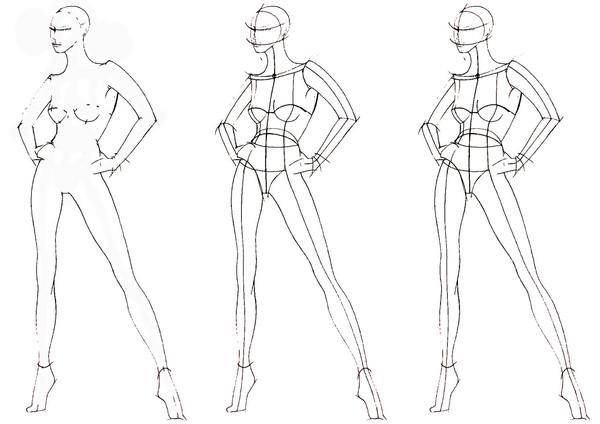 Урок рисования эскизов одежды это какой