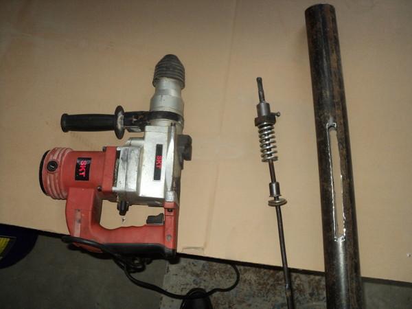 вибратор для бетона из перфоратора своими руками
