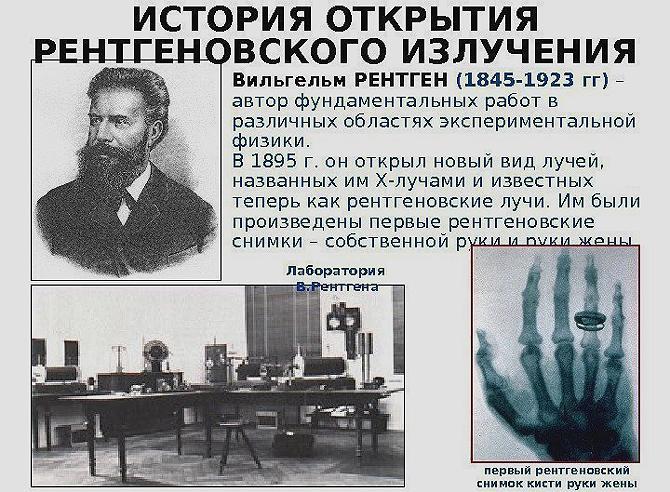 Ответы Mail.ru: Благодаря кому немецкий физик Вильгельм Рентген открыл свои  лучи и как это случилось ?