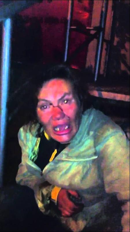 фото страшные некрасивая бабы бомжихи наркоманки