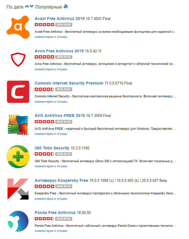 avira free antivirus отзывы