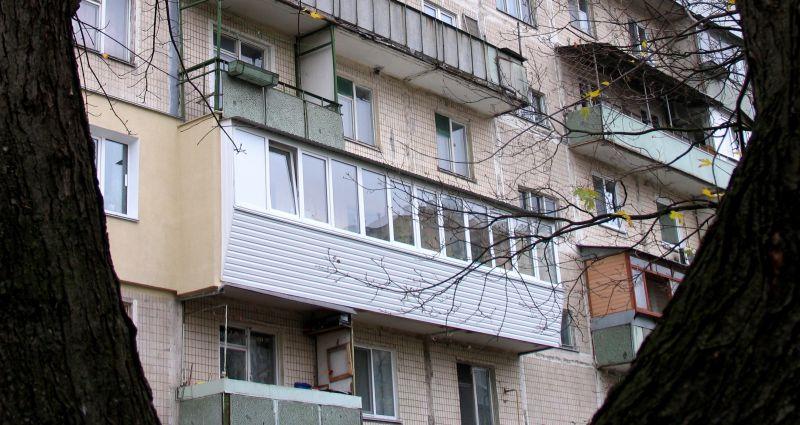 Застеклили общий балкон остекление балконов примыкание