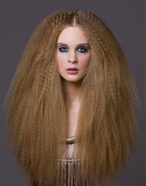 Рифленая плойка для волос