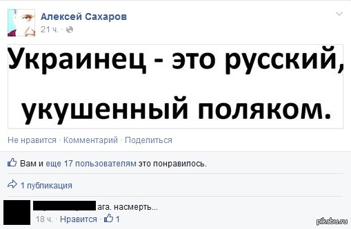 Поляки не любят хохлов
