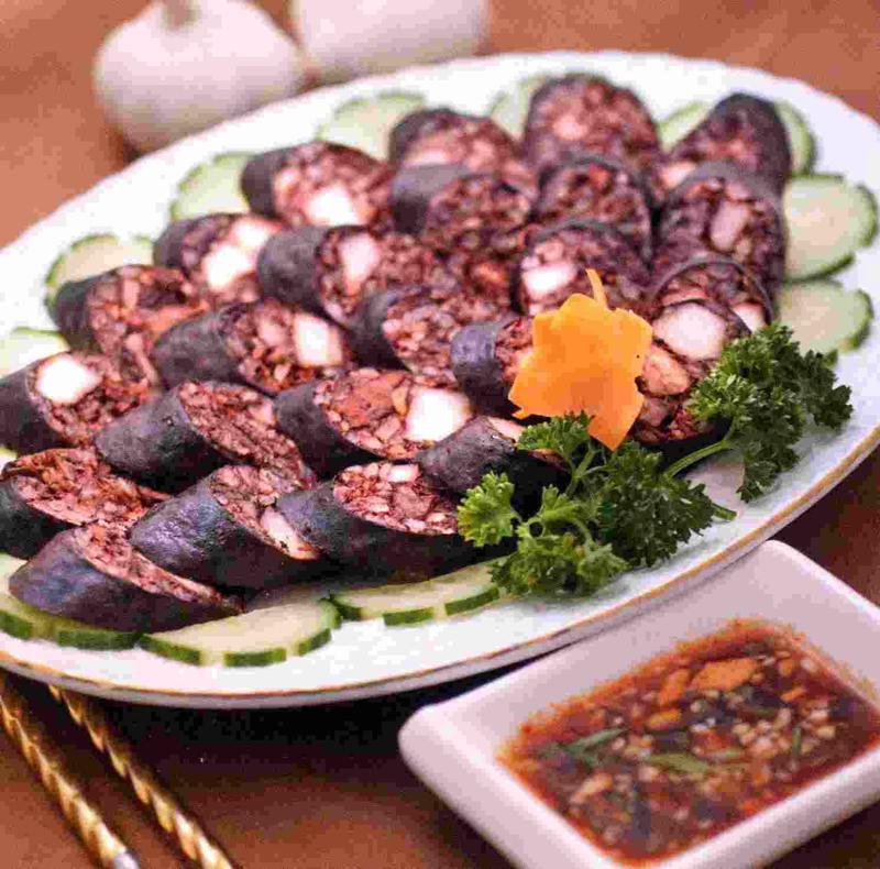 Блюда с кровяной колбасой рецепт с фото