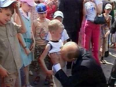 Путинский поцелуй