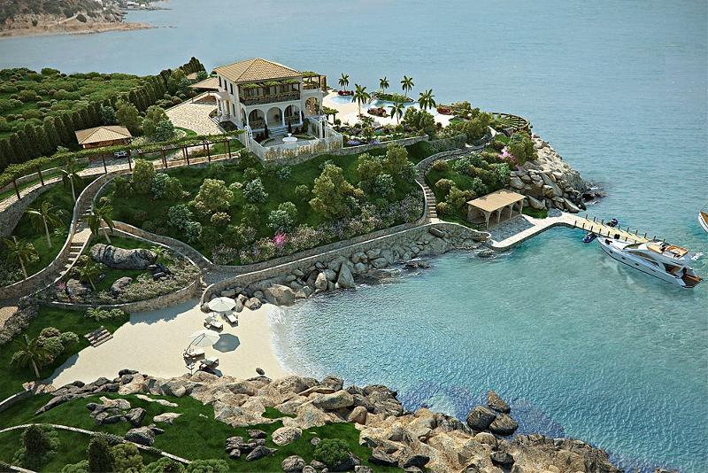 Купить дом в греции на побережье недорого острова