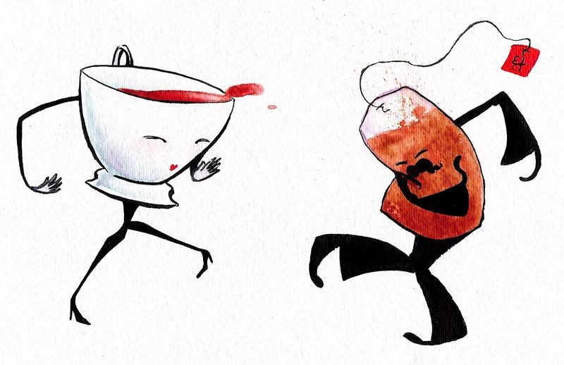 Прикольные картинки про чай и кофе, открытки своими руками