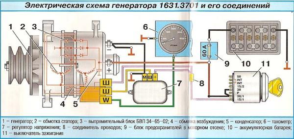 Схема подключения р131.3702