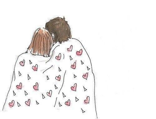 почему человек обнимает одеяло если