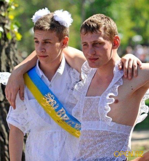 Один хохол фуфел . два хохла гей-пара, миллионы гей -клуб Ляшко.