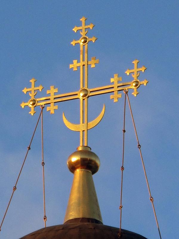 кресты на российских церквях фото это время