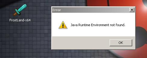 что делать если при запуске майнкрафт пишет java runtime environment