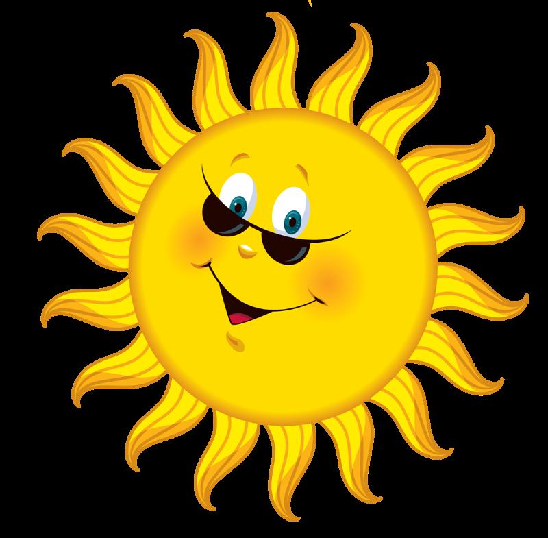 Фото как солнышко улыбается