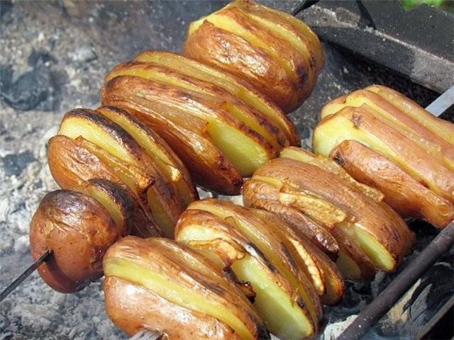 Картошка на костре рецепты с фото