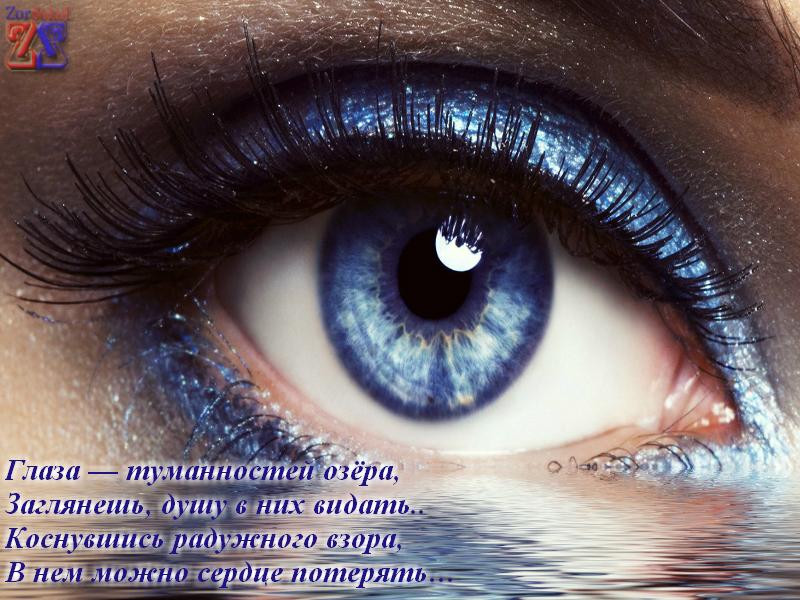 поздравление об глазах серых добро