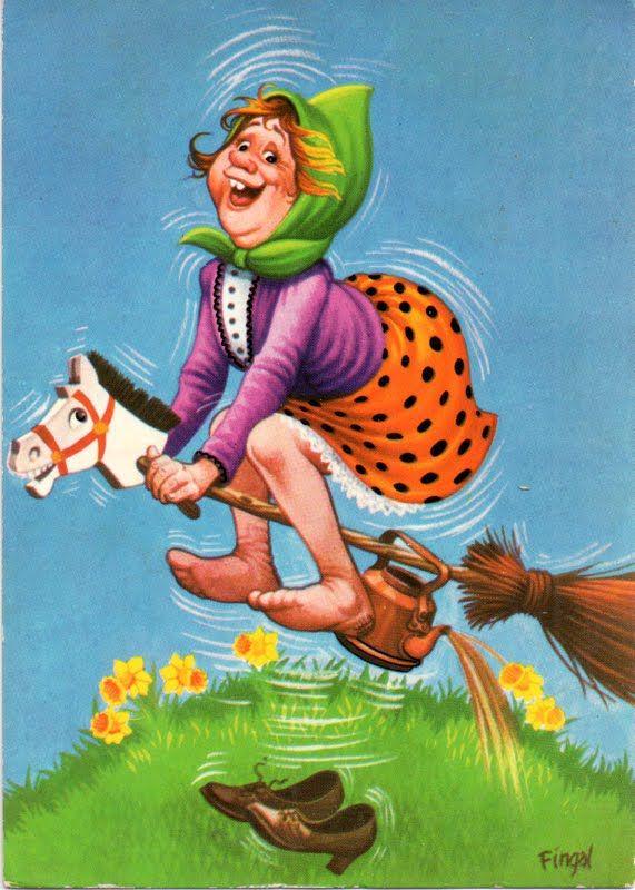 Картинка бабы яги смешные
