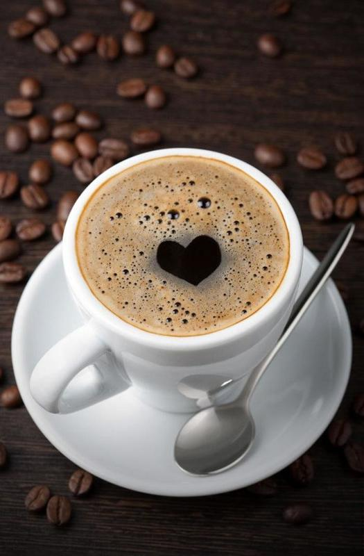 Добрым утром, картинка с кофе доброе утро