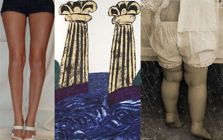 фото криві ноги