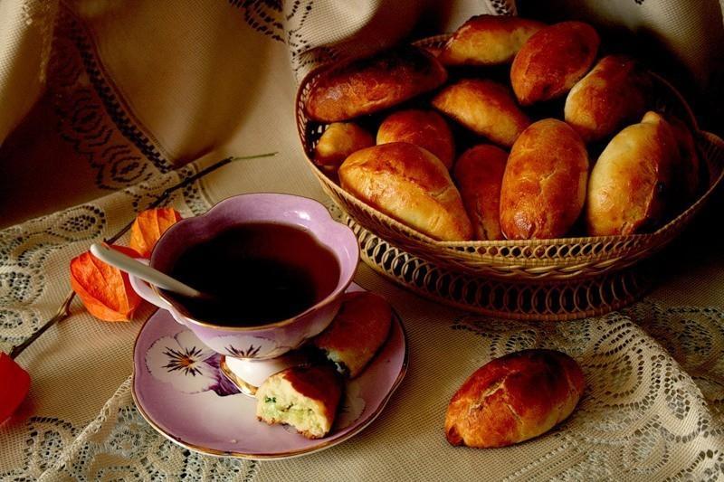 Картинки, картинки с пирожками доброе утро