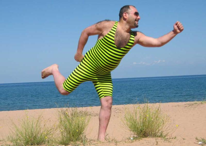 Какие, картинки смешные мужчины на пляже