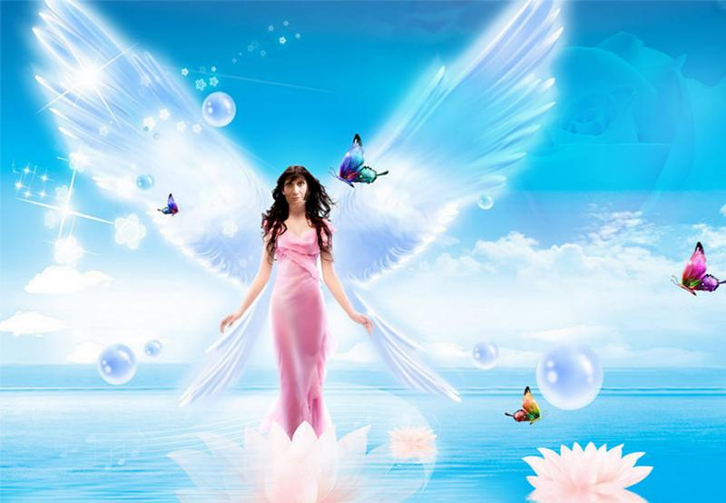 фоторедактор с ангелами случаи
