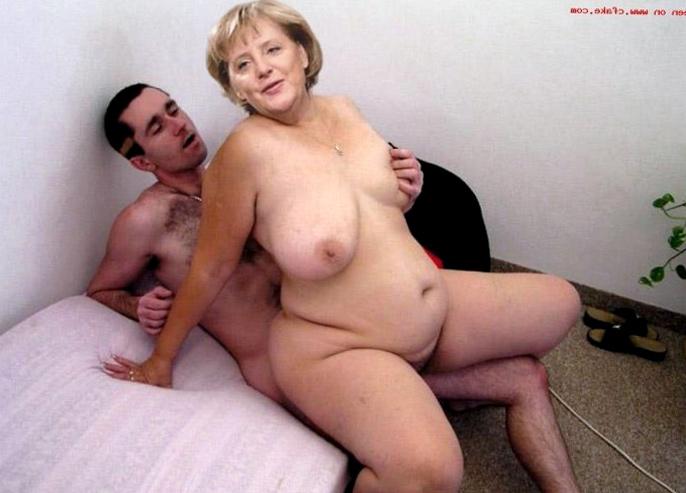 Фото порно ангелы меркель