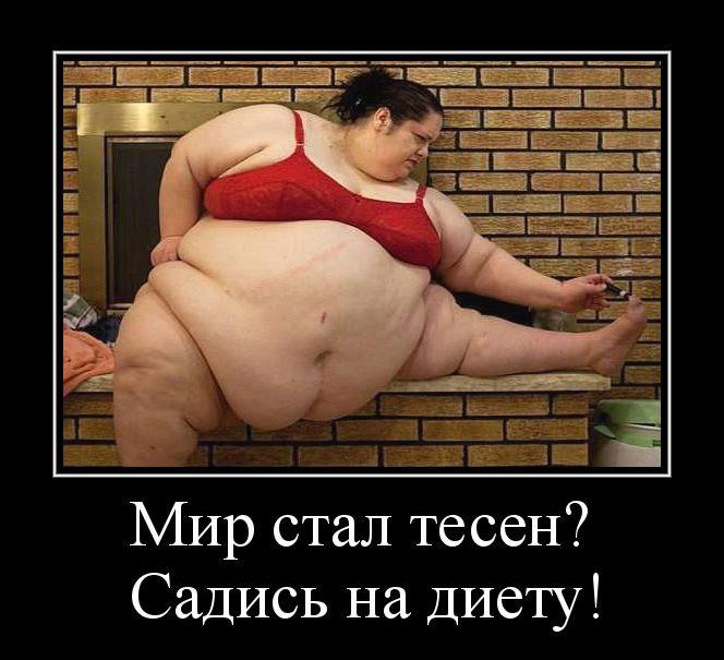 демки с жирными дамами - 5