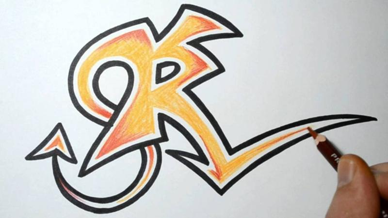 Graffiti Alphabet Letters AZ  Graffiti Alphabet Org