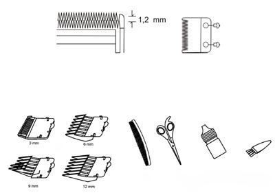 машинка для стрижки волос регулировка