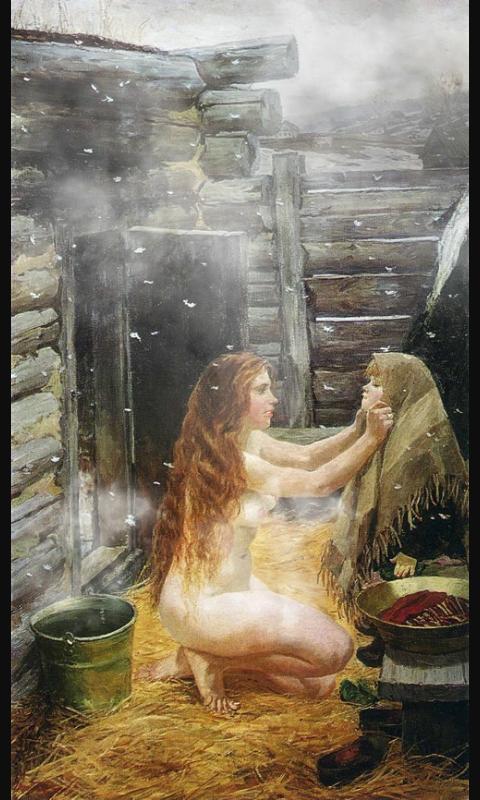 babi-moyutsya-v-kolhoznoy-bane