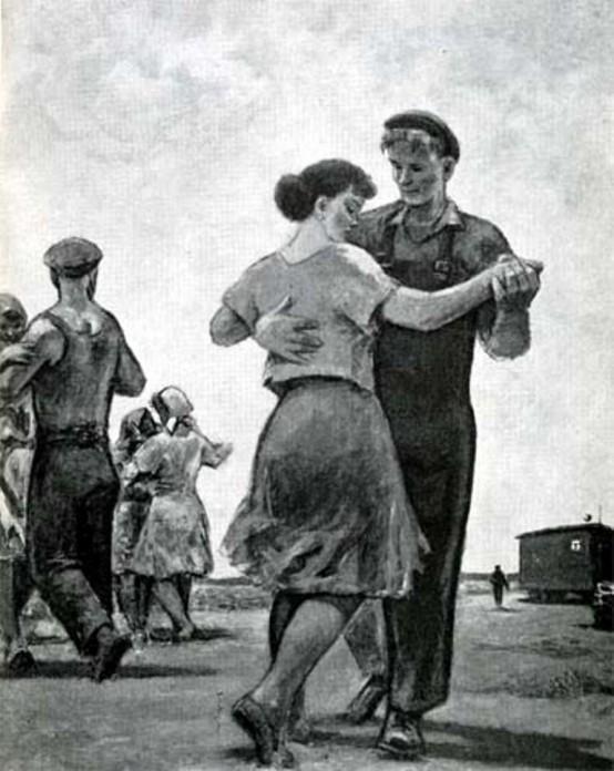 какое танго было попул¤рным опосл¤ войны