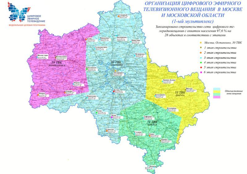 перейти карта охвата цифрового телевидения в московской области ЗМЗ