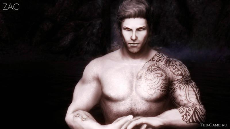 скачать мод для скайрим татуировки для мужчин