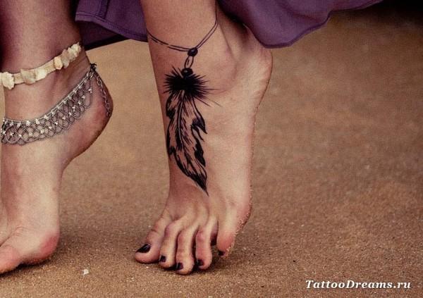 тату и эскизы значения на ногу для девушек Постельное белье