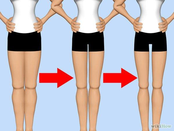 Три дырки на ногах