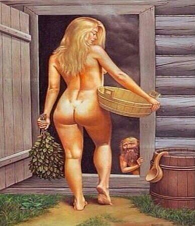 Женщины моются бани есть фото 92535 фотография
