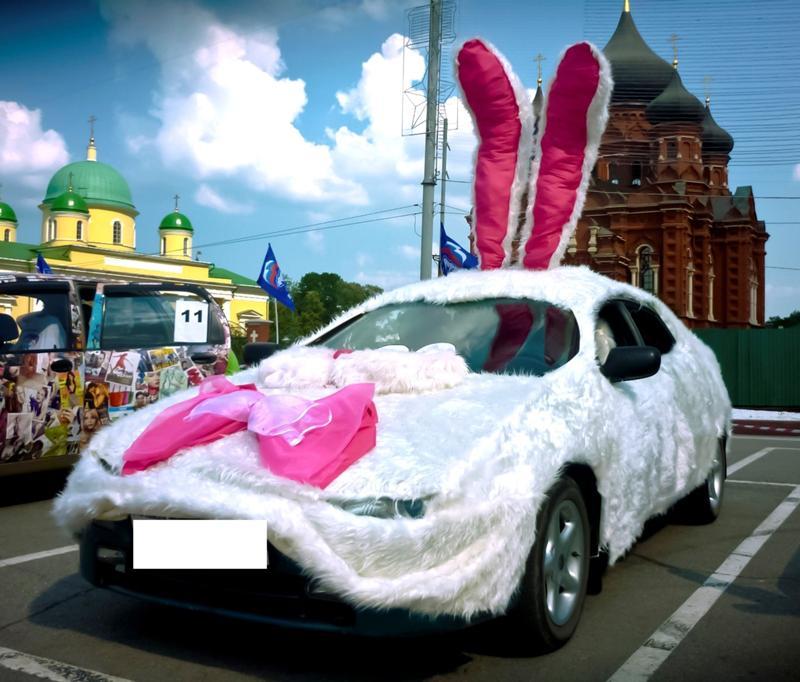 можете вручную как украсить машину к конкурсу автоледи фото ивану удается