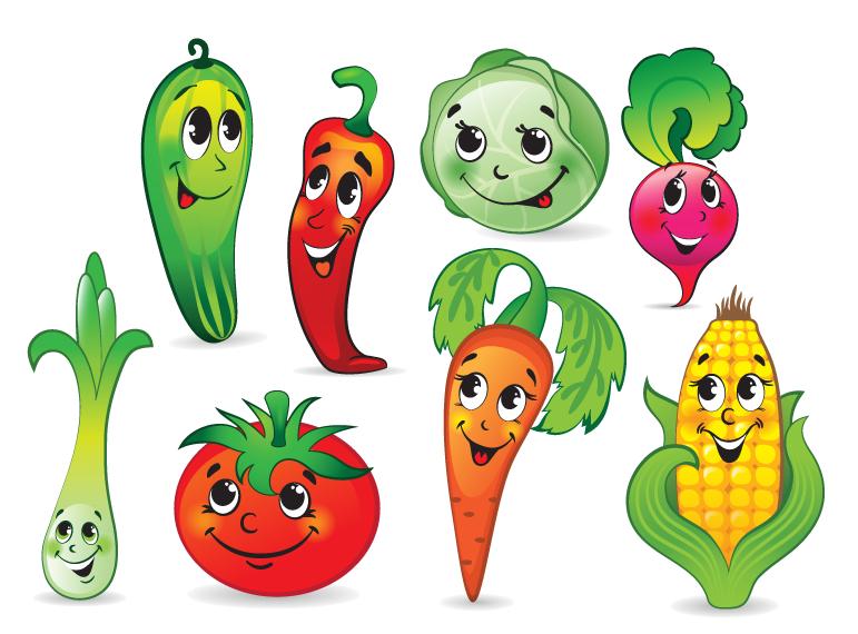 картинки овощи рисунки