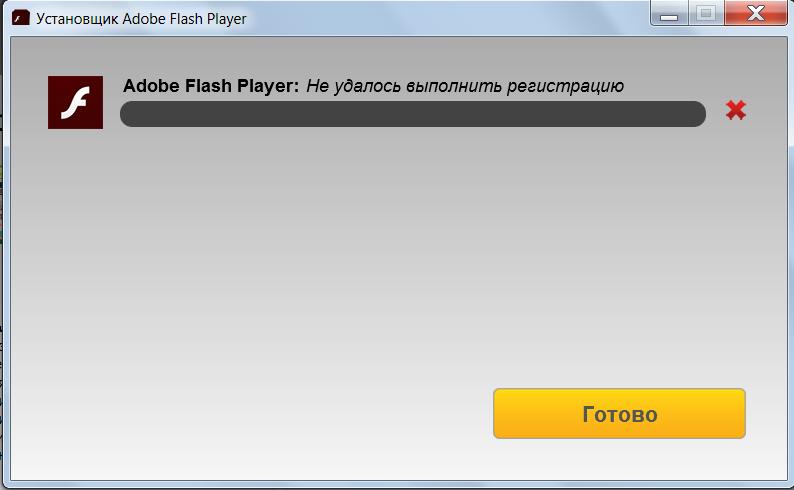 не скачивается adobe flash player