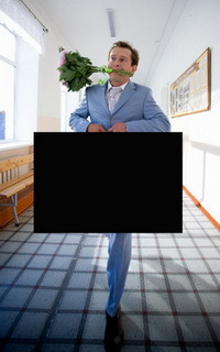 Картинка с черным квадратом для угадывания