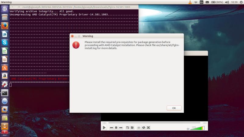 Ответы Mail ru: Проблема с дровами AMD на Ubuntu