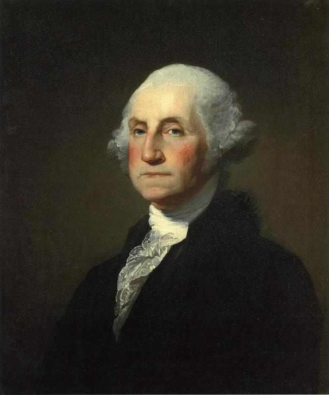 the state of the us government during the presidency of george washington