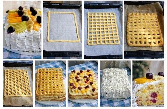 летний торт рецепт с фото