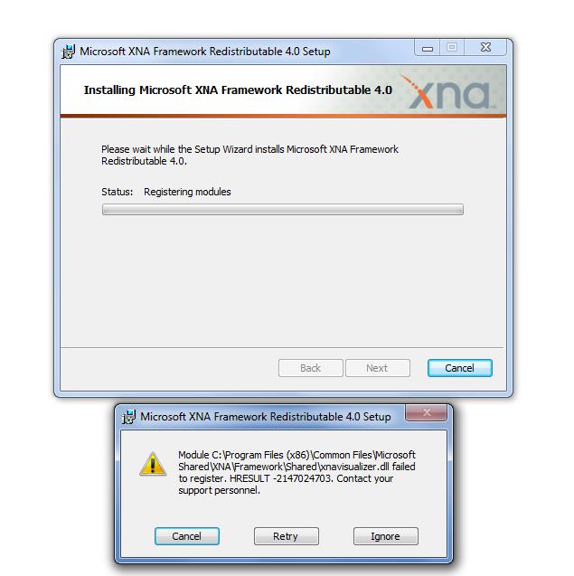 Скачать программу xnafx40 redist