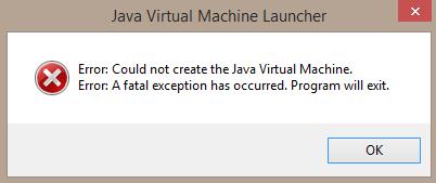 как устранить ошибку в майнкрафте java virtual machine #10