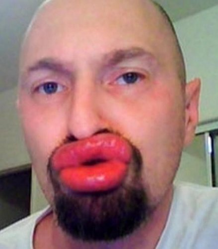 Montero базового фотоприкол мужчина с большими губами образом