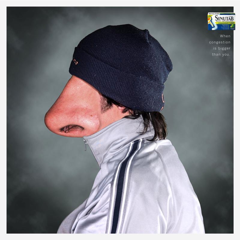 Надписью, прикольная картинка носа