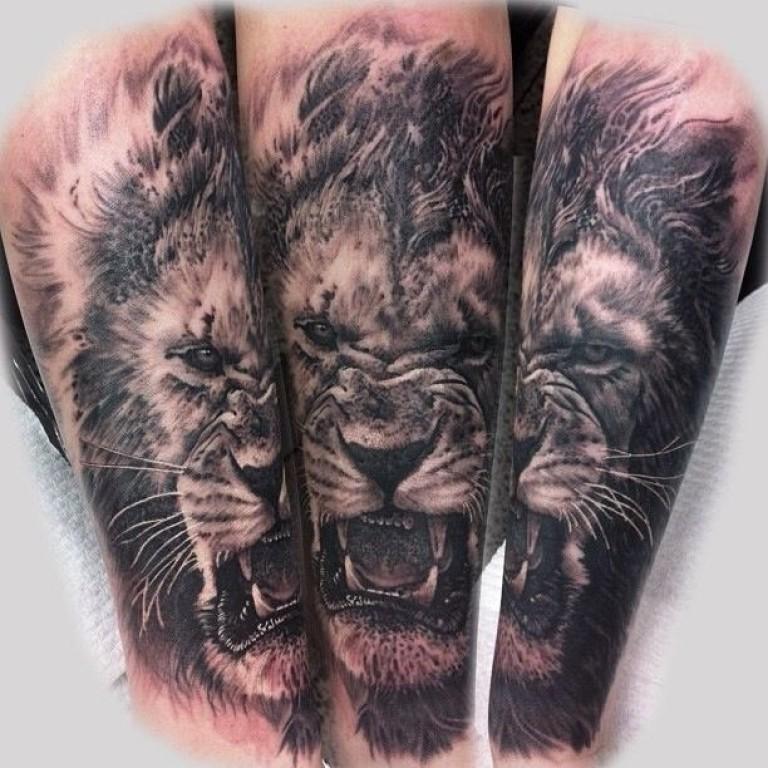 Значение татуировок Лев