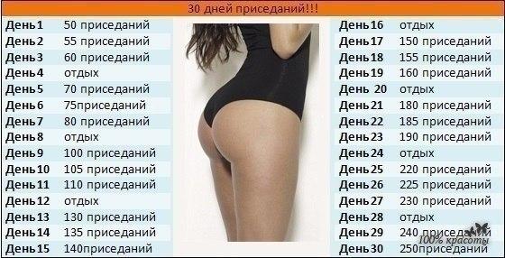 как увеличить задницу